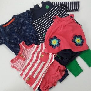 4 Age 6 Months Carter's Outfits LOT